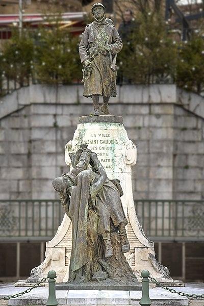 Photo du Monument Historique Monument aux morts de la guerre de 1914-1918 situé à Saint-Gaudens