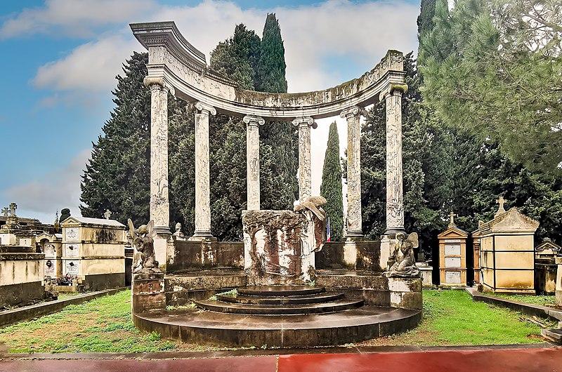 Photo du Monument Historique Monument funéraire d'Aristide et Marie Bergès situé à Toulouse