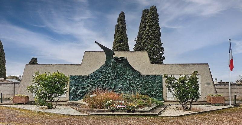 Photo du Monument Historique Monument aux morts de la guerre 1914-1918 de Philippeville (actuellement Skikda en Algérie) situé à Toulouse