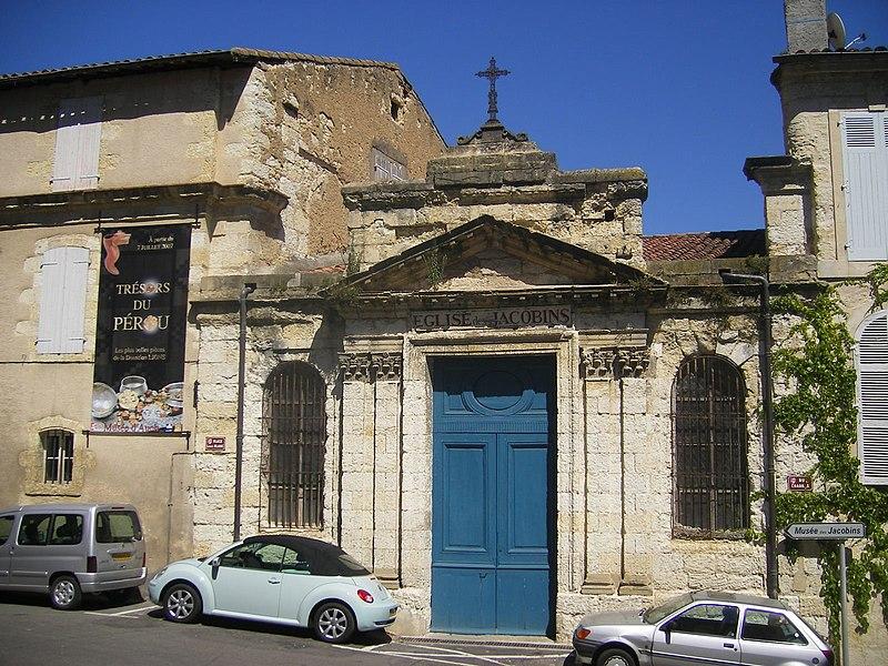 Photo du Monument Historique Ancien couvent des Jacobins situé à Auch
