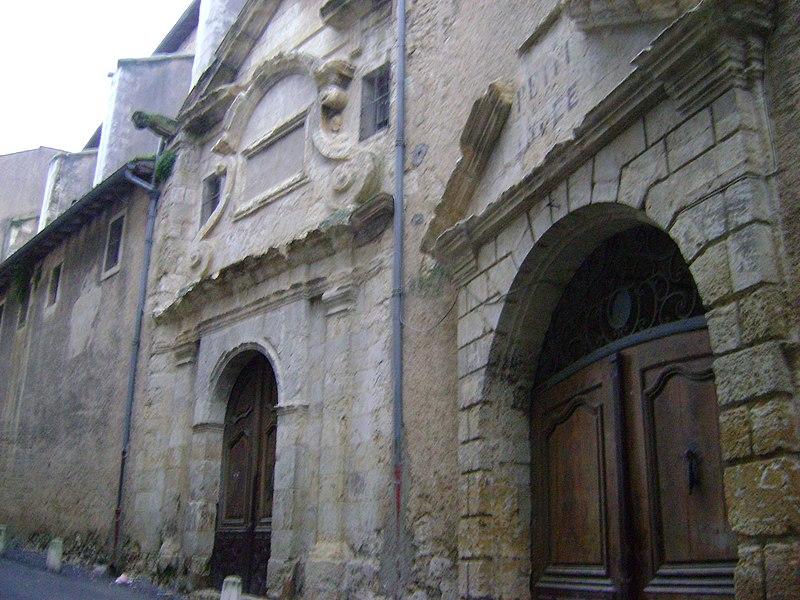 Photo du Monument Historique Ancien collège de Jésuites, puis lycée, actuellement collège Salinis situé à Auch