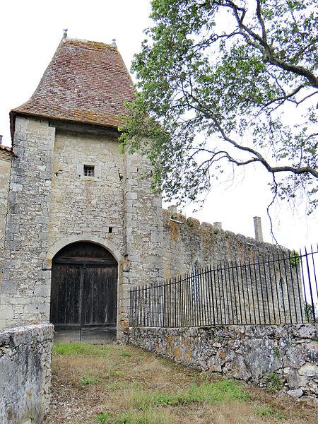 Photo du Monument Historique Château situé à Avensac