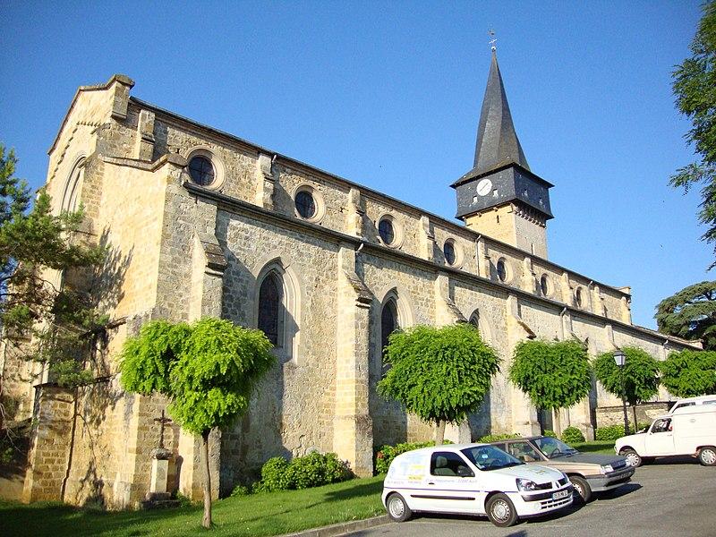 Photo du Monument Historique Eglise situé à Barran
