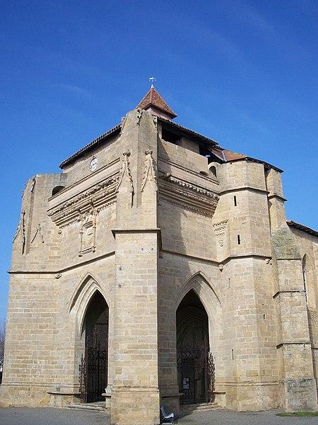 Photo du Monument Historique Eglise situé à Beaumarchés