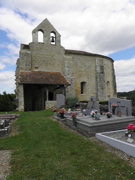 Photo du Monument Historique Eglise de Vopillon situé à Beaumont