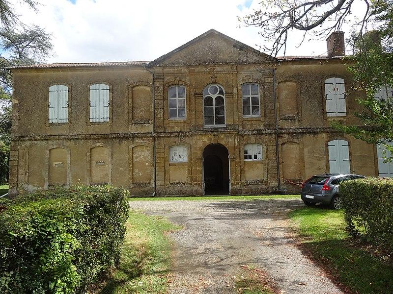 Photo du Monument Historique Ancienne abbaye cistercienne situé à Berdoues