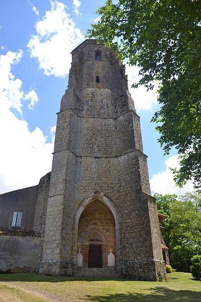 Photo du Monument Historique Eglise et cimetière situé à Bernède