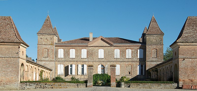 Photo du Monument Historique Château situé à Bézéril
