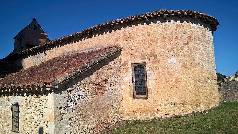 Photo du Monument Historique Eglise de Ramensan situé à Biran