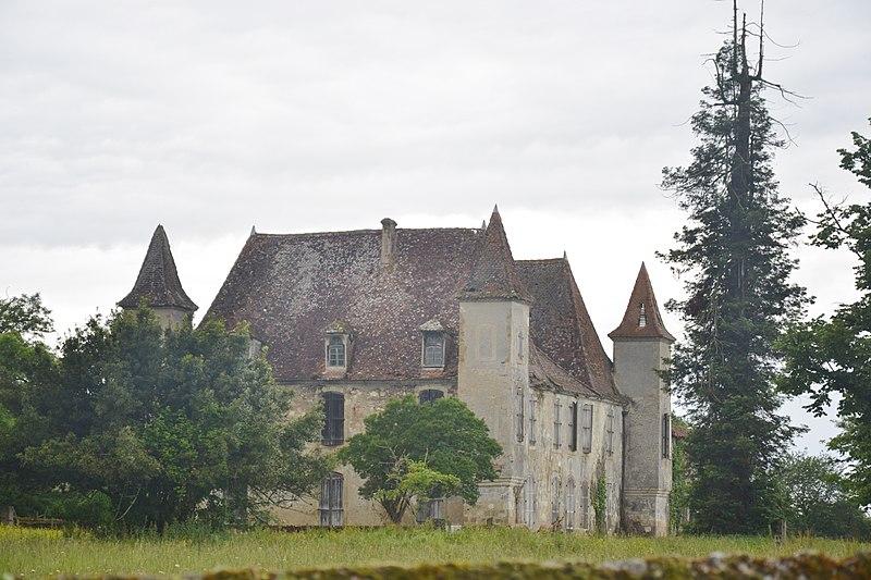 Photo du Monument Historique Château de Saint-Julien situé à Cahuzac-sur-Adour