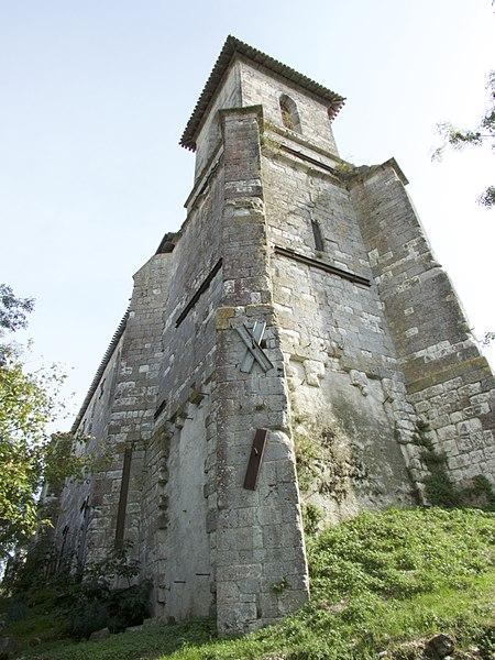 Photo du Monument Historique Eglise Sainte-Madeleine situé à Castéra-Lectourois