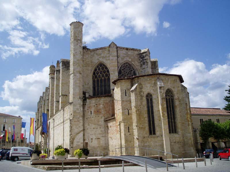 Photo du Monument Historique Ancienne cathédrale, actuellement église Saint-Pierre situé à Condom
