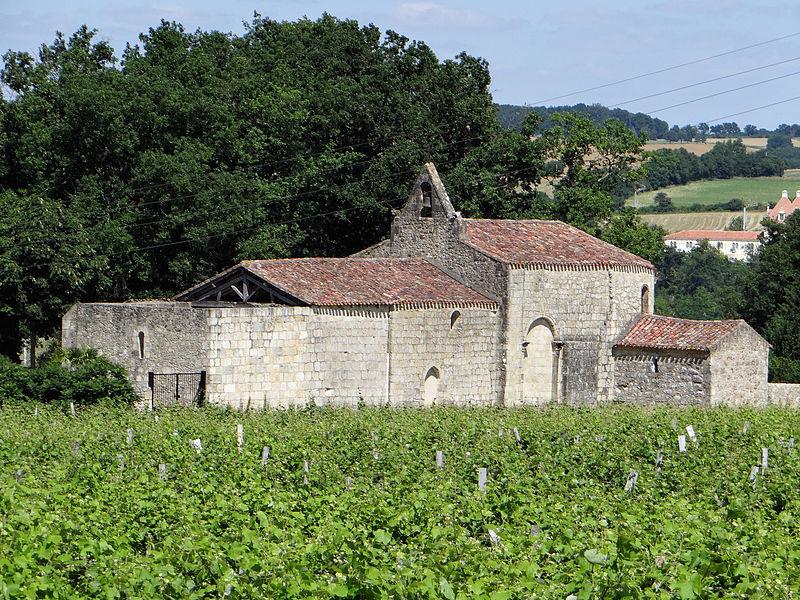 Photo du Monument Historique Eglise Sainte-Germaine de Baradieu situé à Condom