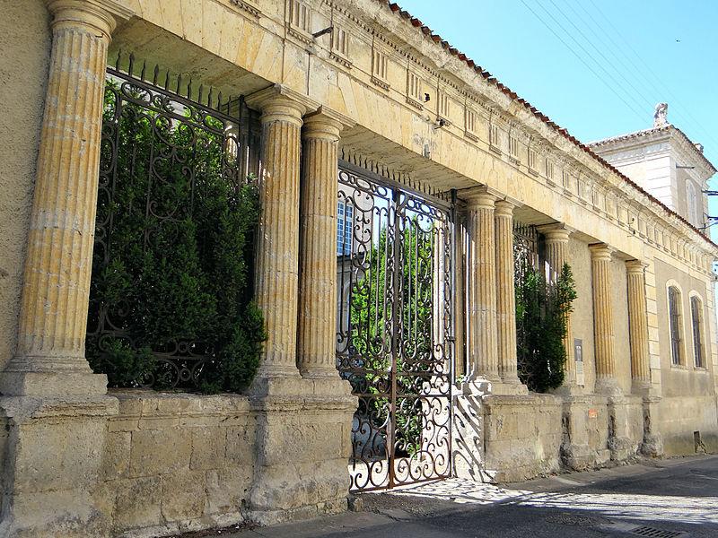 Photo du Monument Historique Ancien hôtel de Polignac situé à Condom
