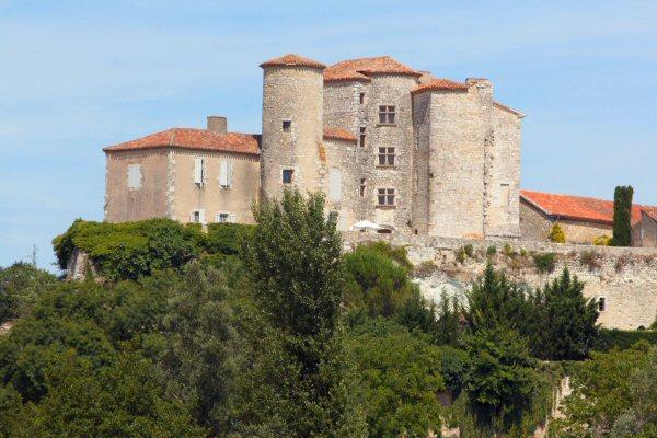 Photo du Monument Historique Château situé à Courrensan