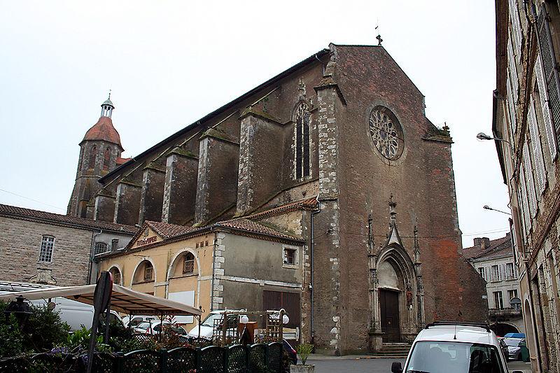 Photo du Monument Historique Eglise Saint-Luperc situé à Eauze
