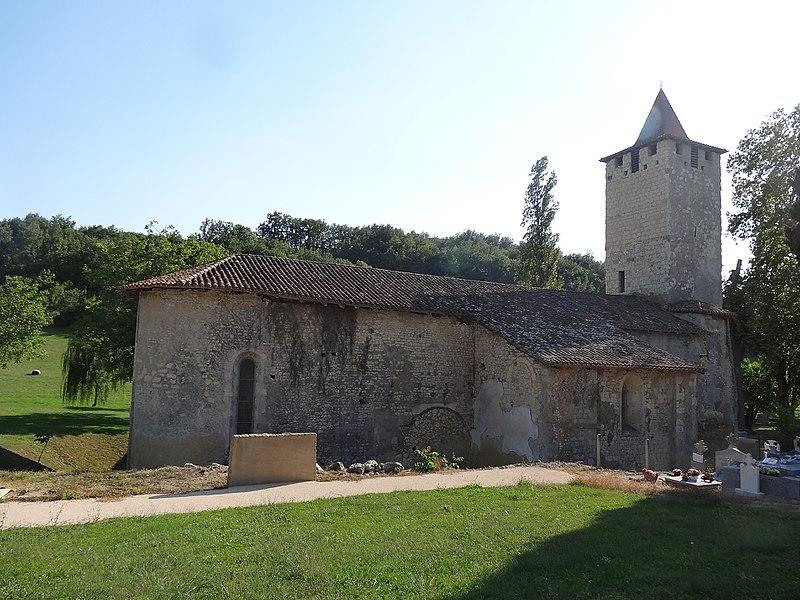 Photo du Monument Historique Eglise Saint-Sauveur situé à Faget-Abbatial