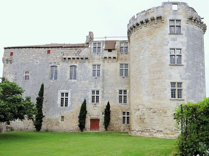 Photo du Monument Historique Château situé à Flamarens