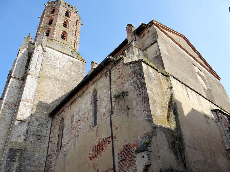 Photo du Monument Historique Eglise situé à Gimont