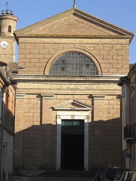 Photo du Monument Historique Eglise collégiale Saint-Martin situé à L'Isle-Jourdain