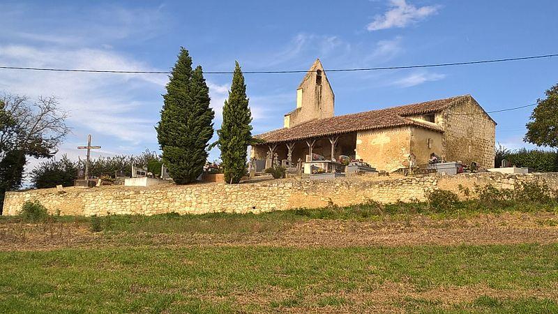 Photo du Monument Historique Chapelle Saint-Michel de Tremblade situé à Jegun