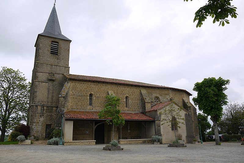 Photo du Monument Historique Eglise Saint-Abdon et Saint-Sennen situé à Labéjan