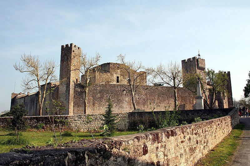 Photo du Monument Historique Enceinte fortifiée situé à Larressingle