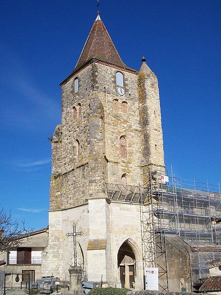 Photo du Monument Historique Eglise situé à Lavardens