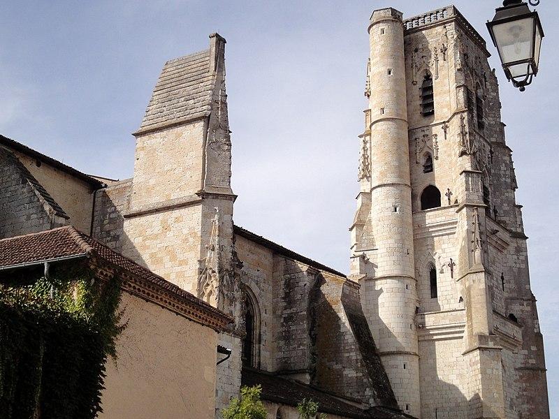 Photo du Monument Historique Eglise Saint-Gervais situé à Lectoure