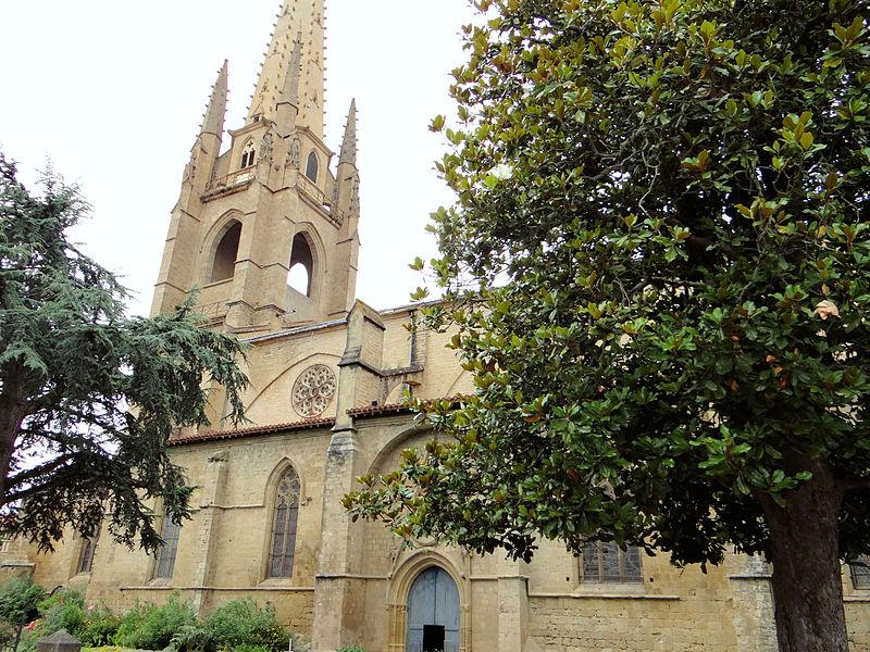 Photo du Monument Historique Eglise situé à Marciac