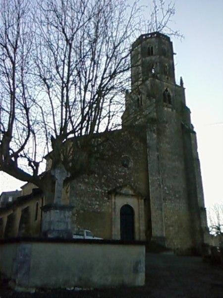Photo du Monument Historique Eglise Saint-Michel situé à Mauvezin