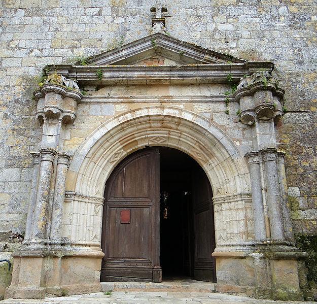 Photo du Monument Historique Eglise situé à Miradoux