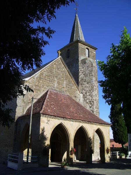 Photo du Monument Historique Eglise situé à Mont-d'Astarac
