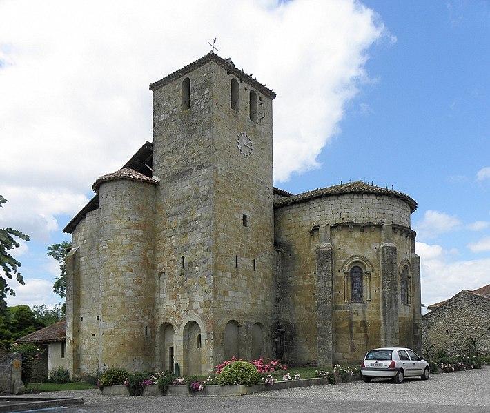 Photo du Monument Historique Eglise situé à Mouchan
