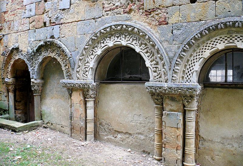 Photo du Monument Historique Restes du cloître situé à Nogaro