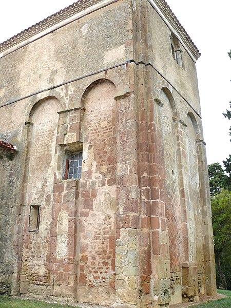 Photo du Monument Historique Eglise Saint-Mamet situé à Peyrusse-Grande