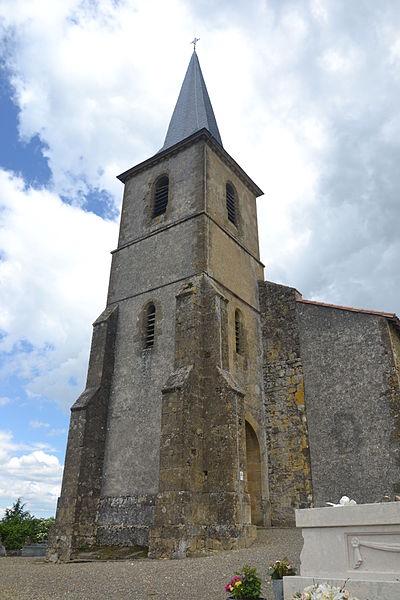 Photo du Monument Historique Eglise Saint-André situé à Peyrusse-Vieille