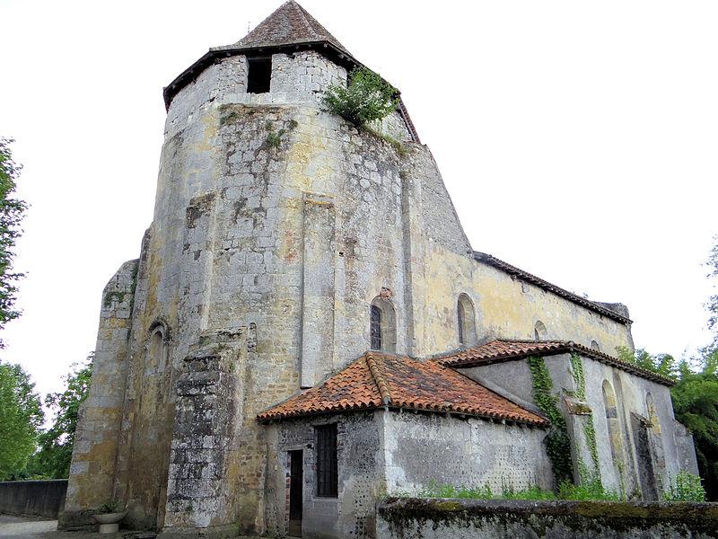 Photo du Monument Historique Eglise paroissiale situé à Préchac-sur-Adour