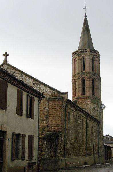 Photo du Monument Historique Eglise situé à Puycasquier