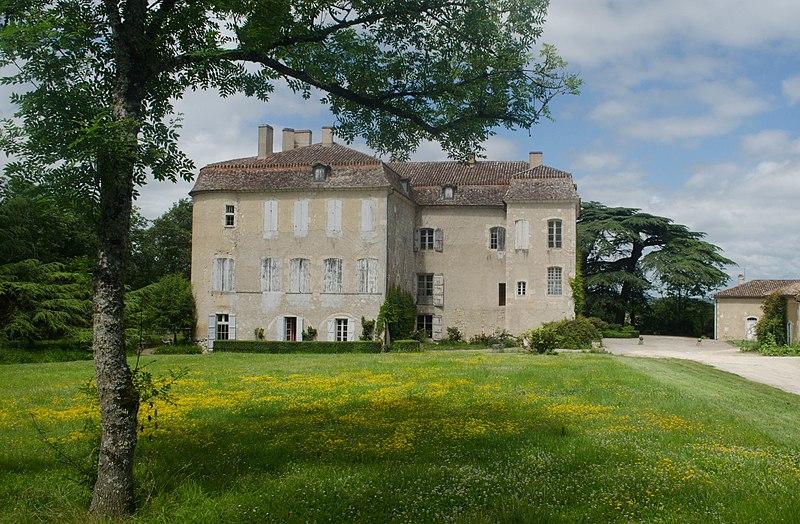 Photo du Monument Historique Château de Lacassagne situé à Saint-Avit-Frandat
