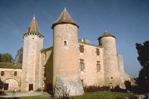 Photo du Monument Historique Château du Bartas ou Barthas situé à Saint-Georges