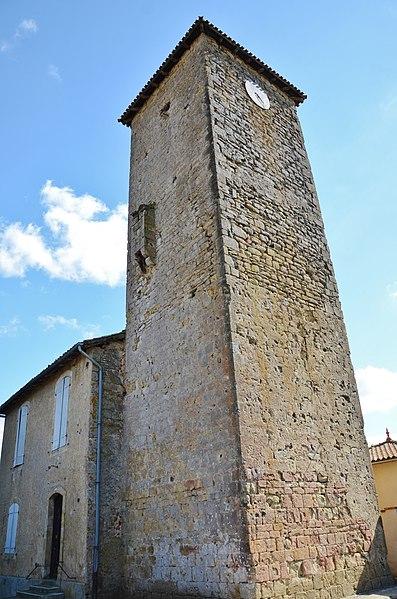 Photo du Monument Historique Ancien château situé à Seissan