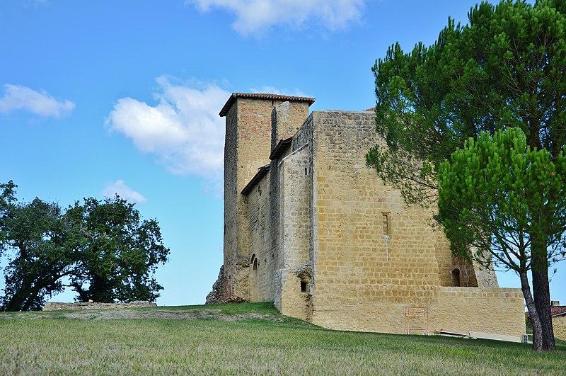 Photo du Monument Historique Château du Garranée situé à Seissan