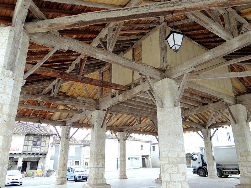 Photo du Monument Historique Halle situé à Solomiac