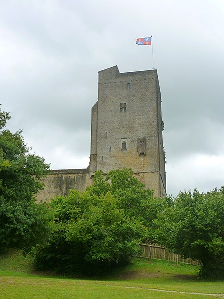 Photo du Monument Historique Ensemble des vestiges du château d'Armagnac situé à Termes-d'Armagnac