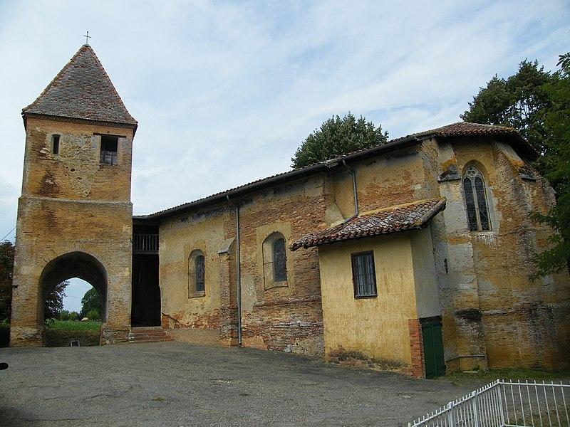 Photo du Monument Historique Eglise situé à Toujouse