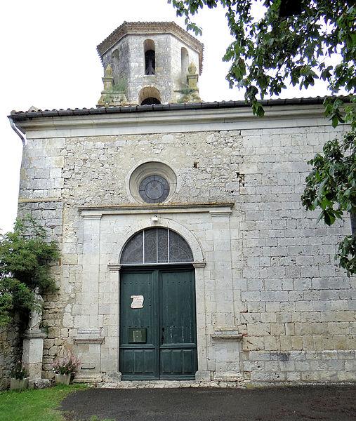 Photo du Monument Historique Eglise situé à Tournecoupe