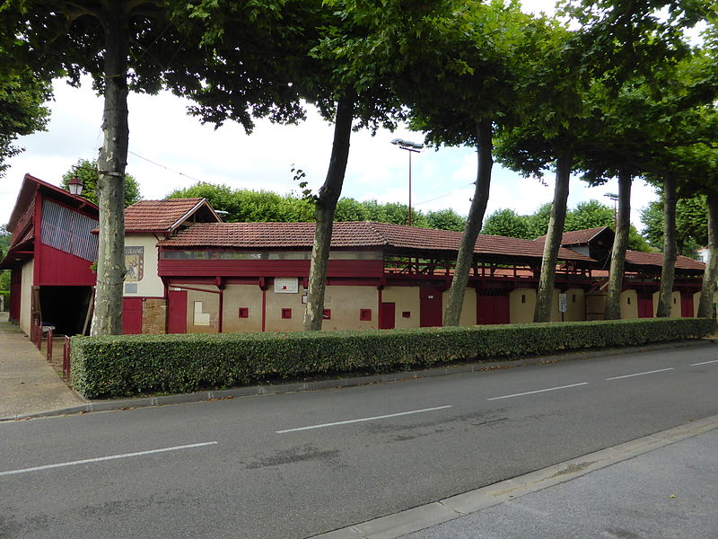 Photo du Monument Historique Arènes situé à Estang