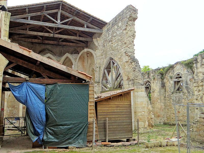 Photo du Monument Historique Ancienne église situé à Flamarens