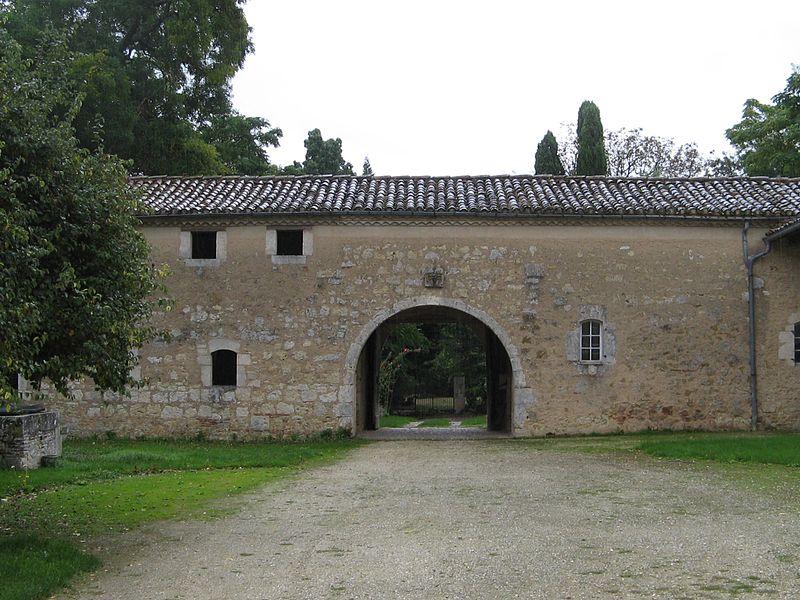 Photo du Monument Historique Château de Lauret situé à Sainte-Gemme